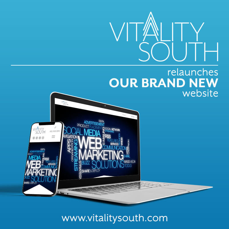 Website Redesign and Marketing Agency solutions by Vitality South