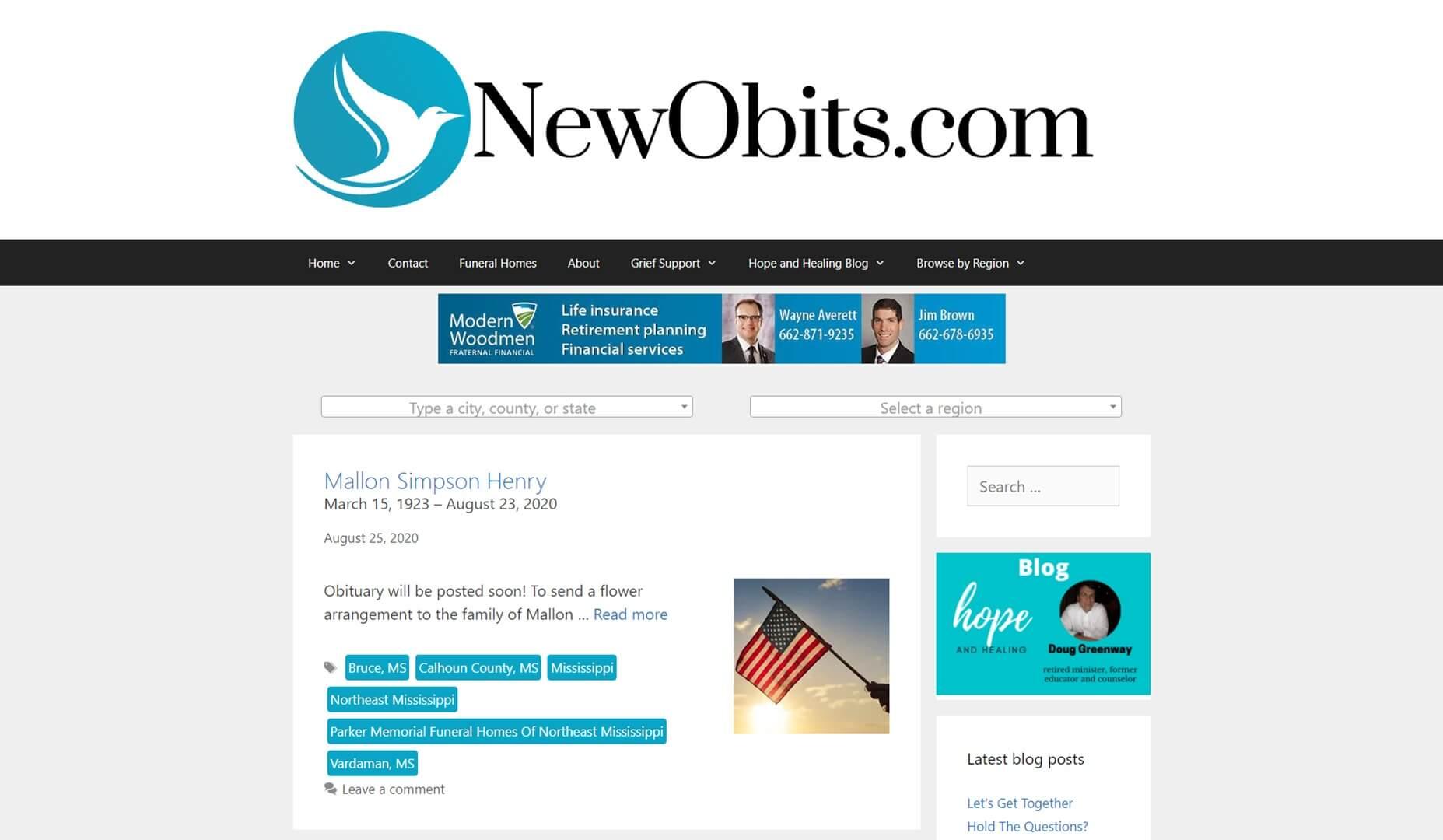 newobits