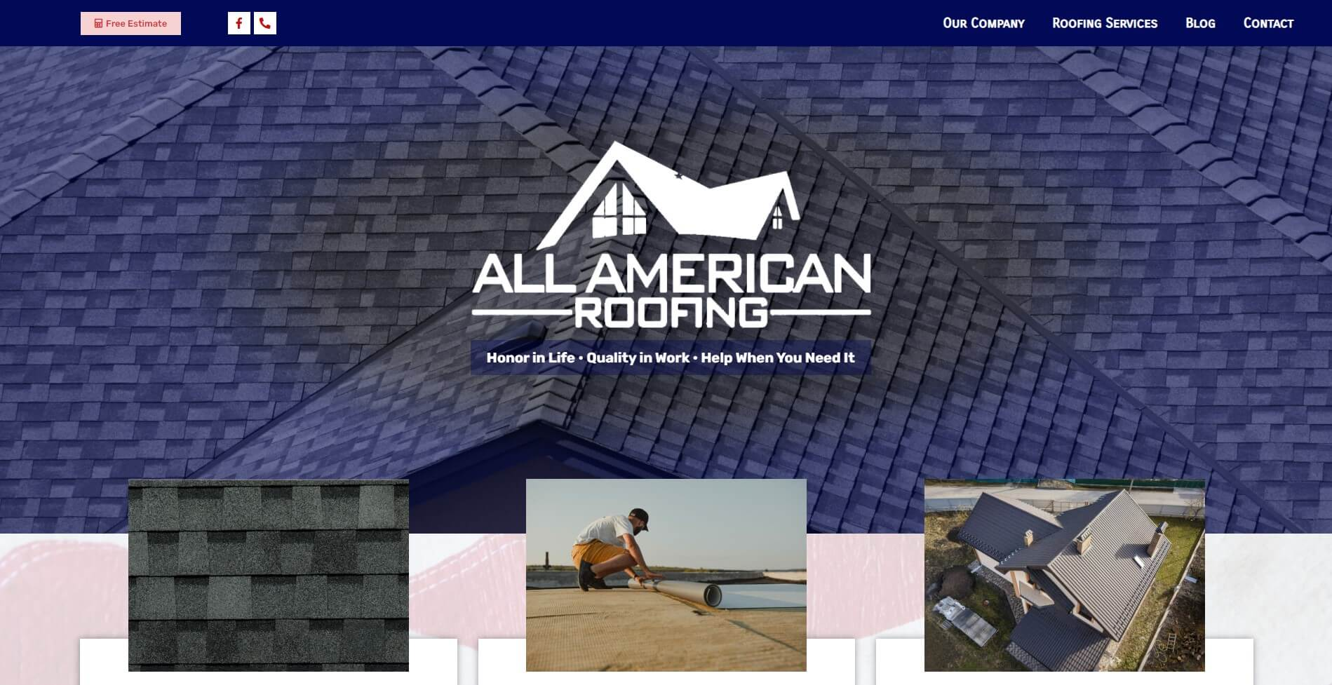 service - all american roofing
